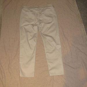 NYDJ Pants - NYDJ Khaki Lift Tuck Tech 8P Ankle Pant